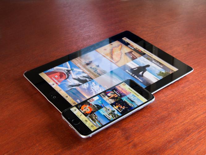 Aruba eGuide app fotografie