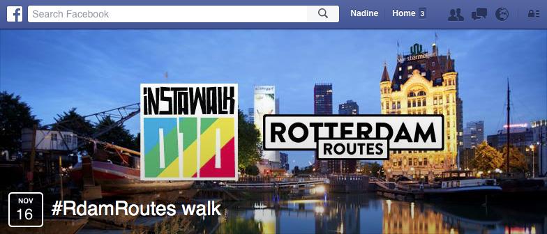 Eventheader Rotterdam Routes Instawalk