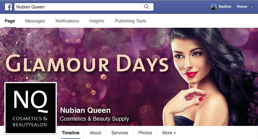 NQ Glamour Days Facebook header