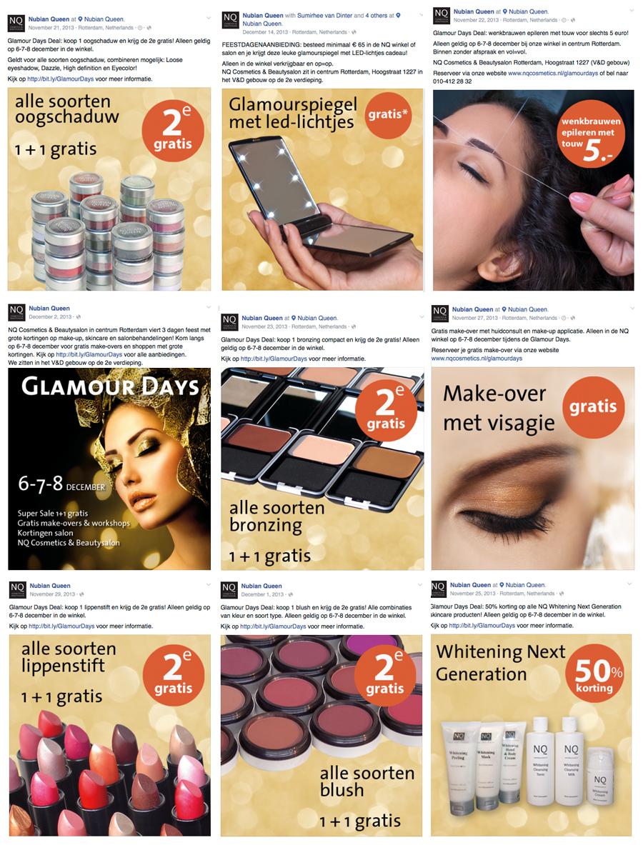 NQ Glamour Days Facebook