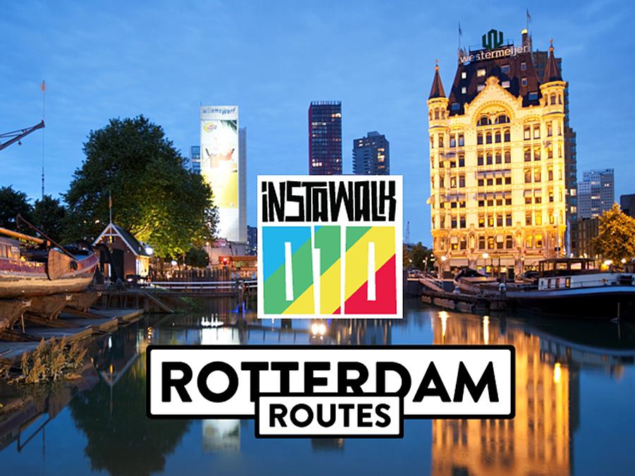 Instawalk Rotterdam Routes
