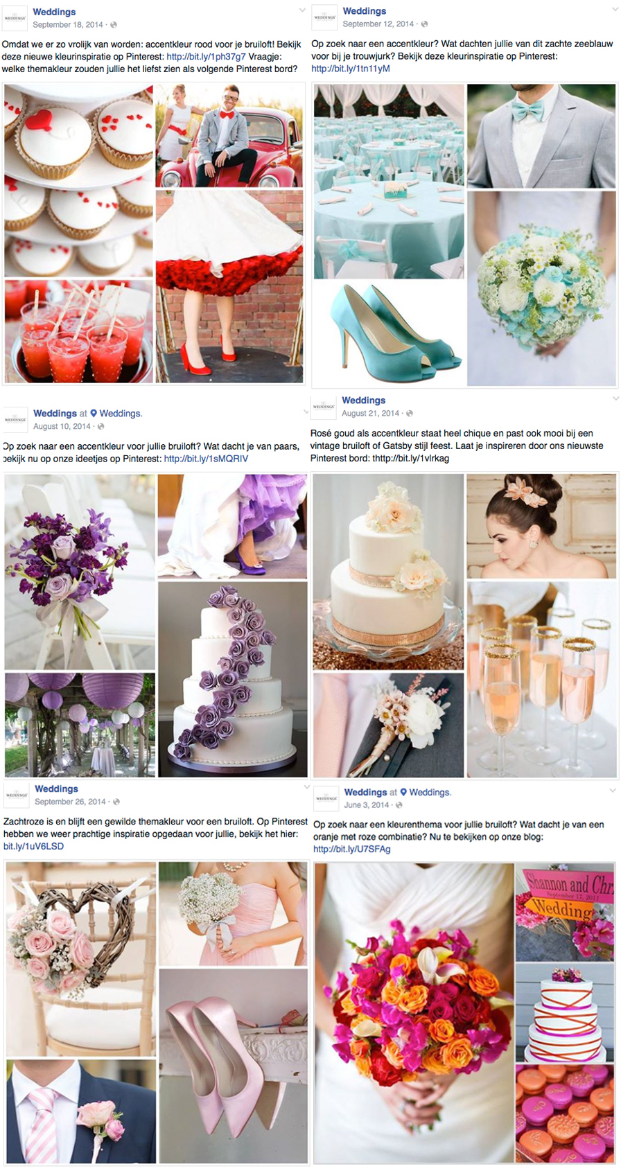 Pinterest Weddings Bruidsmode